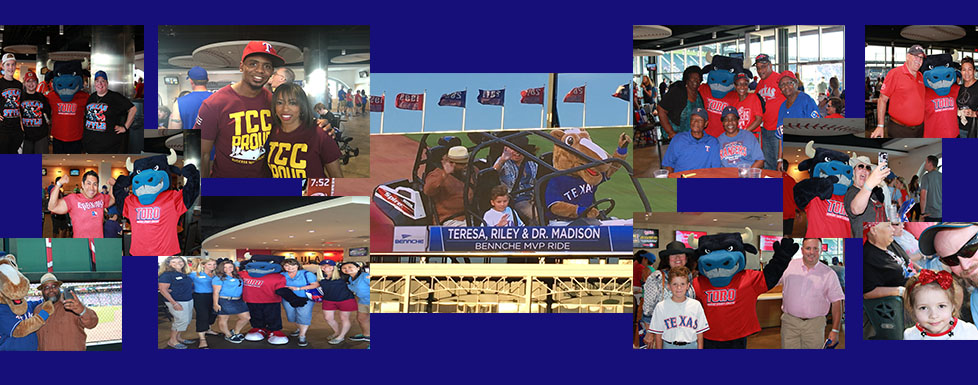 6th Annual Alumni, Family and Friends Night with the Texas Rangers